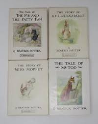 rabbit series beatrix potter rabbit series lot 4 pie patty pan fierce mr