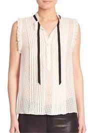 swiss dot blouse joie joie toledo sleeveless silk swiss dot blouse dress shirts