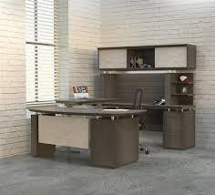 mayline sterling ergonomic u shaped desk with height adjustable