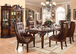 Old World Living Room Furniture by Dark Walnut Old World Classic Hand Carved Dining Room Set 11603