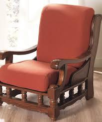 housse extensible pour fauteuil et canapé lot de 2 housses extensibles pour fauteuil rustique muscade