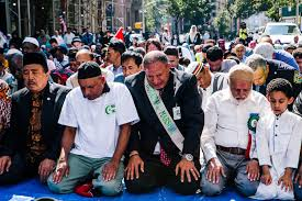 a rabbi an imam and a message of inclusion at a muslim parade