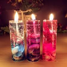 1pcs new aromatherapy smokeless candles shells jelly