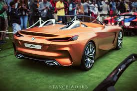 bmw concept bmw concept z4 roadster monterey california reveal stanceworks