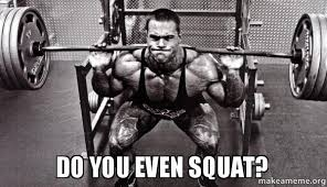 Squat Meme - do you even squat make a meme