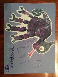 toddler craft diy handprint card lizard chameleon handprint