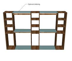 Tv Stand Plans Howtospecialist How by Stylist Design Ideas Building Closet Organizer Stunning Decoration
