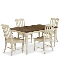 Dining Room Collections Barclay Expandable Dining Room Furniture 5 Pc Set Dining Table