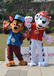 new professional 2017 paw patrol mascot costumes marshall
