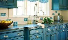 cuisine bleu turquoise cuisine bleu canard gallery of peinture cuisine bleu dedans cuisine
