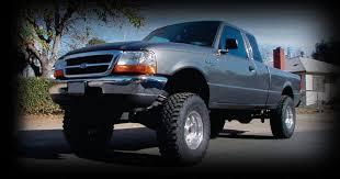 ranger ford lifted ford ranger lift suspension kit