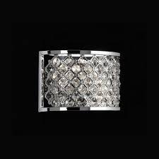 Chandelier Wall Lights Uk Hudson Crystal Wall 2 Light The Lighting Superstore