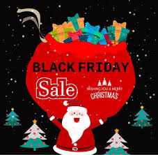 christmas tree sales black friday black friday banner christmas symbols decoration free vector in