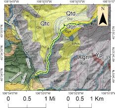 Glacial Drumlin Trail Map Geology Of Mad Creek Trail U2013 Emerald Mountain Geoscience