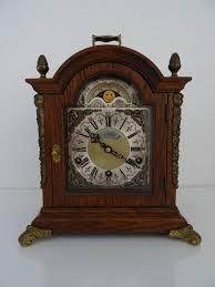 Ebay Cuckoo Clock Vintage Dutch Warmink Wuba Moonphase Westminster Bracket Mantel