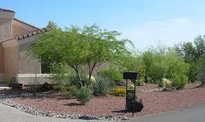 pictures of desert landscape front yards