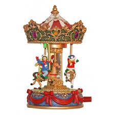 christmas carousel small christmas carousel 55012