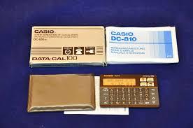 casio data cal 100 dc 810 bk case instructions kusera