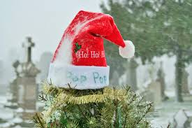 Christmas Decoration For Gravestone by The Cemetery Traveler By Ed Snyder Grave Decorations