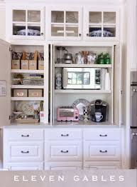 kitchen cabinet desk ideas best 25 appliance cabinet ideas on appliance garage