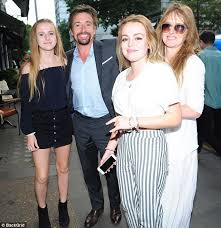 richard hammond enjoys out with and daughters daily