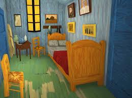 rigging 3d a 3d version of vincent van gogh s bedroom