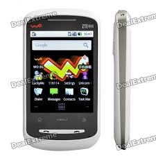 android eclair genuine zte x850 3g wcdma 2 8 resistive android eclair smart