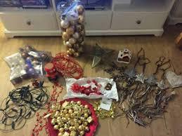 weihnachtsdeko günstig abzugeben lichterketten baumschmuck etc