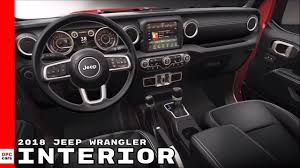 new jeep wrangler interior 2018 jeep wrangler interior youtube