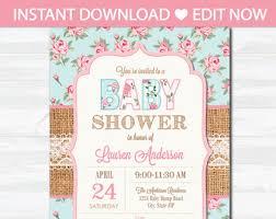 etsy baby shower invites vertabox com