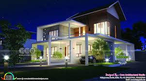 fusion type stunning modern home kerala home design and floor plans