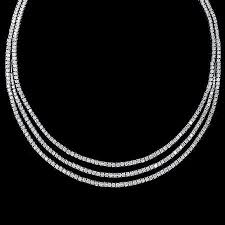 white gold necklace diamond images 16 35ct leo pizzo diamond 18k white gold necklace jpg