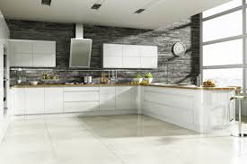 Veneer Kitchen Cabinets by Gray Brick Backsplash Excellent Grey Tile White Kitchen Faux And