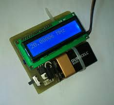 Radio Frequency Display Embedded Engineering 60 Mhz Frequency Meter Counter