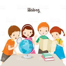children in history class stock vector art 522151810 istock