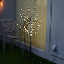 christmas xmas cherry blossom led tree light floor lamp holiday