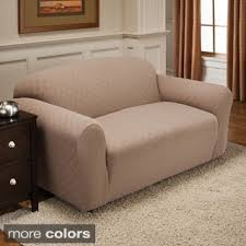 Plastic Sofa Slipcovers Fitted Sofa U0026 Couch Slipcovers Shop The Best Deals For Nov 2017