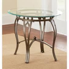 greyson living maison glass top round end table pics on astounding