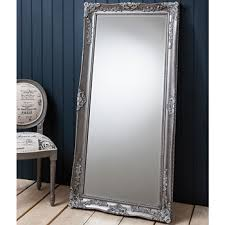 costco mirrors bathroom gallery stowe leaner mirror 168 x 79cm in silver costco uk