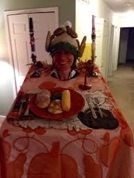 thanksgiving dinner costume 5 steps