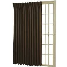 Patio Door Thermal Blackout Curtain Panel Eclipse Rod Pocket Back Tab Patio Door Thermal Blackout Curtain Panel