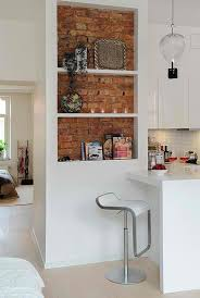 wall for kitchen ideas best 25 brick wall kitchen ideas on exposed brick