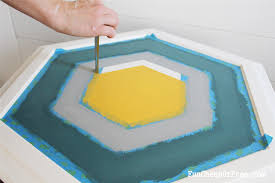 how to paint a floor this old house the finished checkerboard