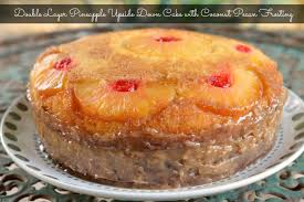 layer pineapple upside down cake