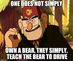 One Does Simply Not Meme Generator - one does not simply gravity falls memes imgflip