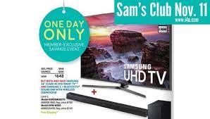 inch samsung 58mu6070 4k tv and soundbar bundle sam s club nov 11