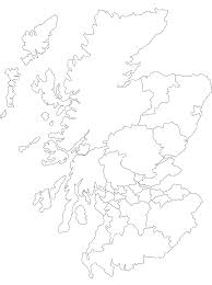 downloads online coloring page blank map of scotland 73 in
