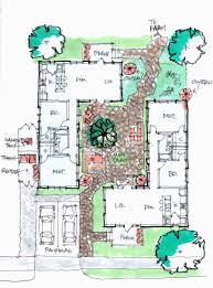 u shaped house plans with courtyard baby nursery courtyard plans u shaped house plans with courtyard