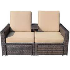 rattan lounge sofa rattan patio furniture shop the best outdoor seating dining