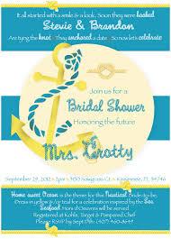 couples shower invitations etsy nautical bridal shower invitations nautical couples wedding